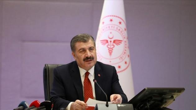 Sağlık Bakanı Koca, son 24 saatte 1195 yeni vaka tespit edildi