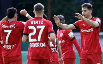 Saarbrücken'i 3-0 yenen Bayer Leverkusen