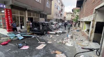 Beyoğlu'nda bir iş yerinde patlama oldu