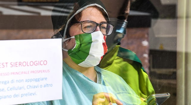 İtalya'da kaybedenlerin sayısı, bugün 78 artarak 34 bin 301 oldu