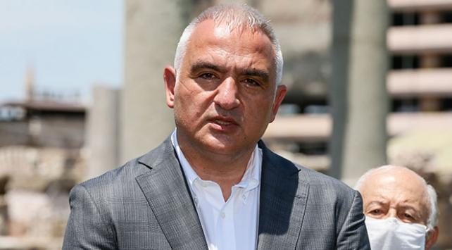 """Kültür ve Turizm Bakanı Ersoy, """"Dünyaya örnek olmasını istiyoruz"""""""