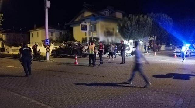 Muğla'da 1 kişi öldü , 1'i ağır 4 kişi yaralandı