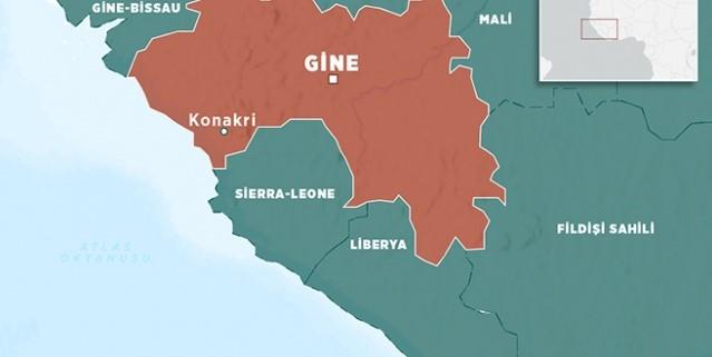 Gine'de maden çöktü 5 kişi öldü