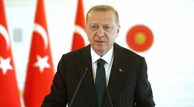 Erdoğan'dan Şentop'a kutlama