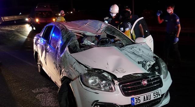 trafik kazasında bir kişi hayatını kaybetti