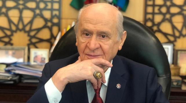 """MHP Genel Başkanı Bahçeli'den """"Ayasofya Camii"""" yüzüğü"""