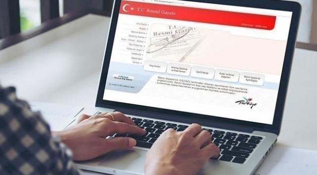 'Define Arama Dair Yönetmelik', Resmi Gazete'de