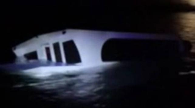 Heybeliada açıklarında batan teknedeki 27 kişi Kurtarıldı