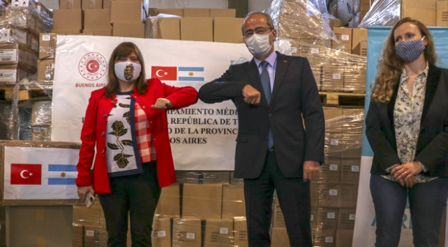 Türkiye'den Arjantin'e tıbbi yardım