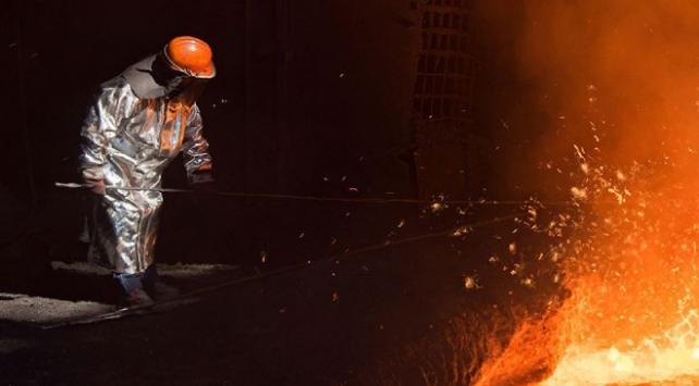 Türkiye'de ham çelik üretimi yüzde 7,4 arttı