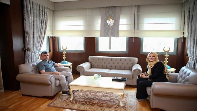 Ünlü Ceza Avukatı Semra Ilık, Sultanbeyli Belediye Başkanı Keskin `i Ziyaret etti