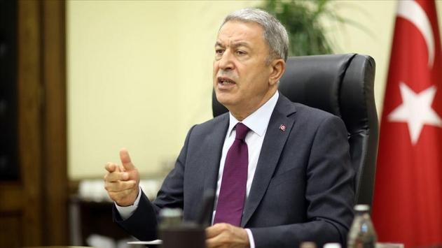Bakan Akar: Türkiye aleyhine kumpaslara girenler hüsrana uğrayacaklar