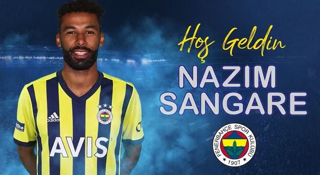 Fenerbahçe, Nazım Sangare'yi kadrosuna kattığını açıkladı