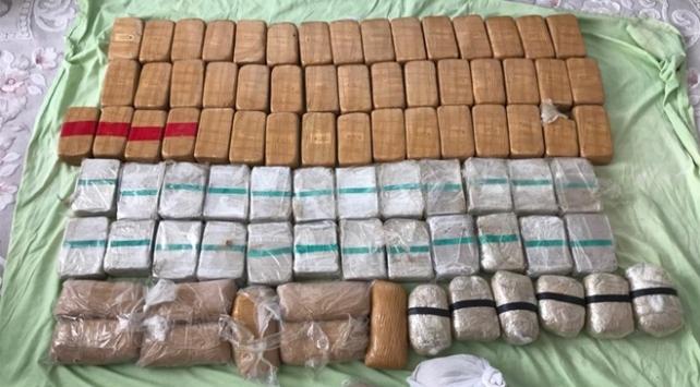Antalya'da 35 kilogram eroin ele geçirildi