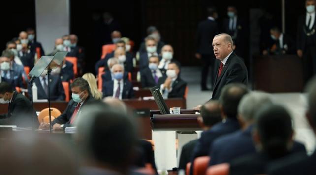 Cumhurbaşkanı Erdoğan: Azerbaycanlı kardeşlerimizin yanlarındayız