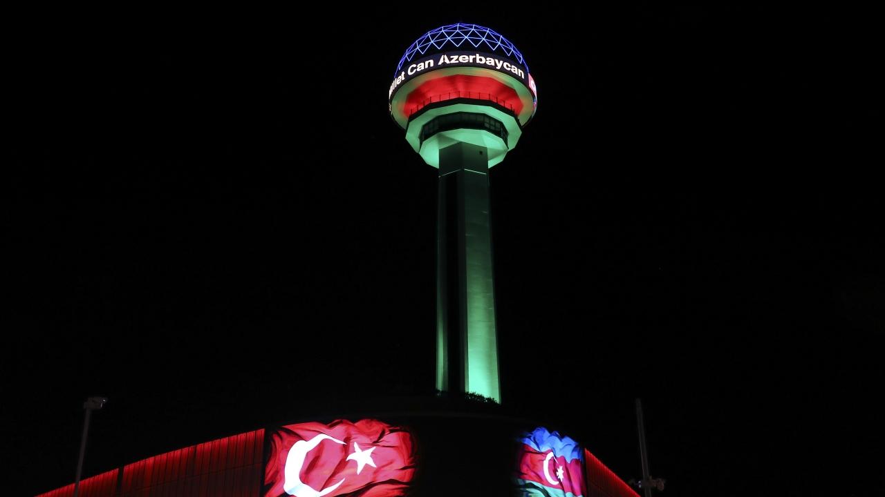 Türkiye'nin dört bir yanından Azerbaycan'a destek