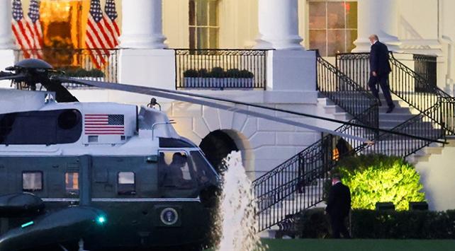 COVID-19'a yakalanan Trump taburcu oldu