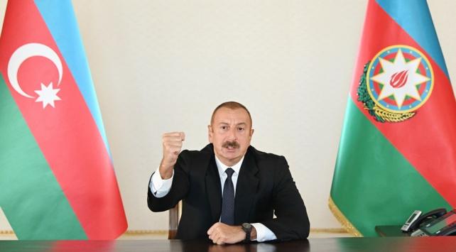 Aliyev: İşgal altındaki topraklarımızı geri alacağız