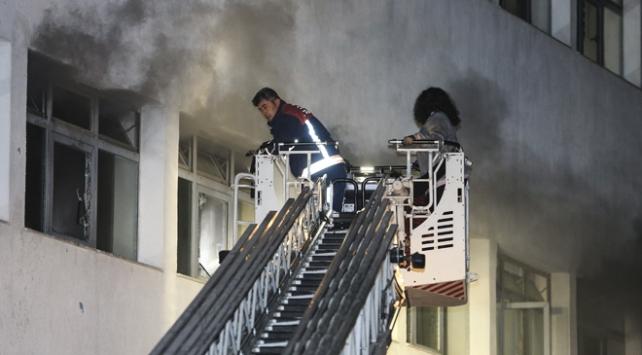 Ankara'da hastane yangını