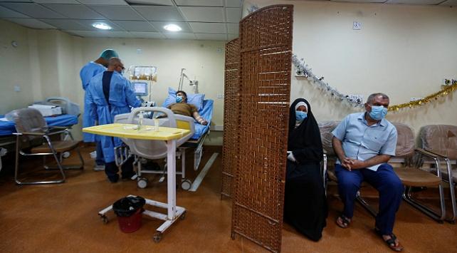 Irak'ta son 24 saatte 62 kişi koronavirüsten öldü