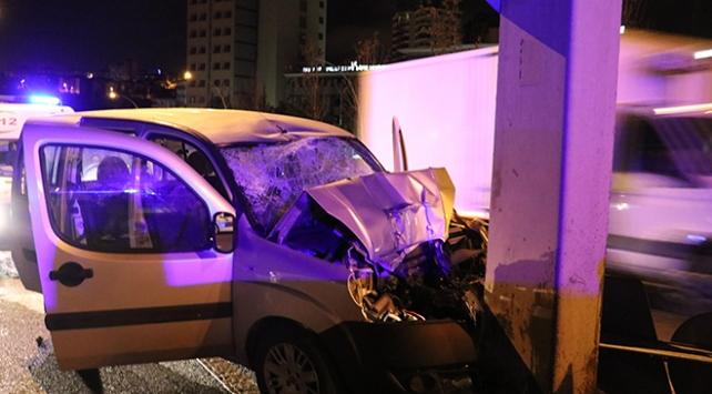 Ankara'da iki ayrı kaza: 4 yaralı