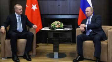 Putin'den Cumhurbaşkanı Erdoğan'a taziye mesajı