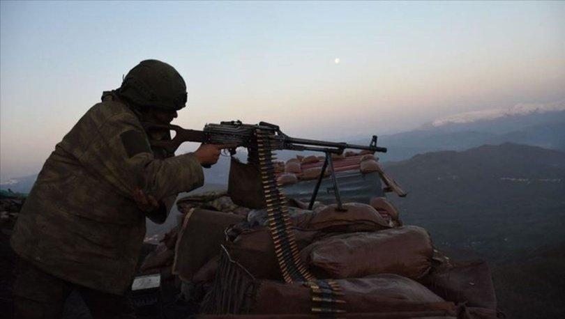 Hakkari'de 1 terörist ölü olarak ele geçirildi
