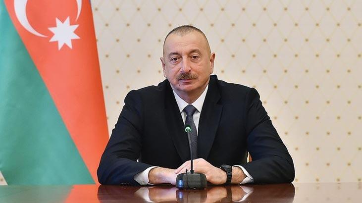 Azerbaycan Cumhurbaşkanı Aliyev açıklama yaptı