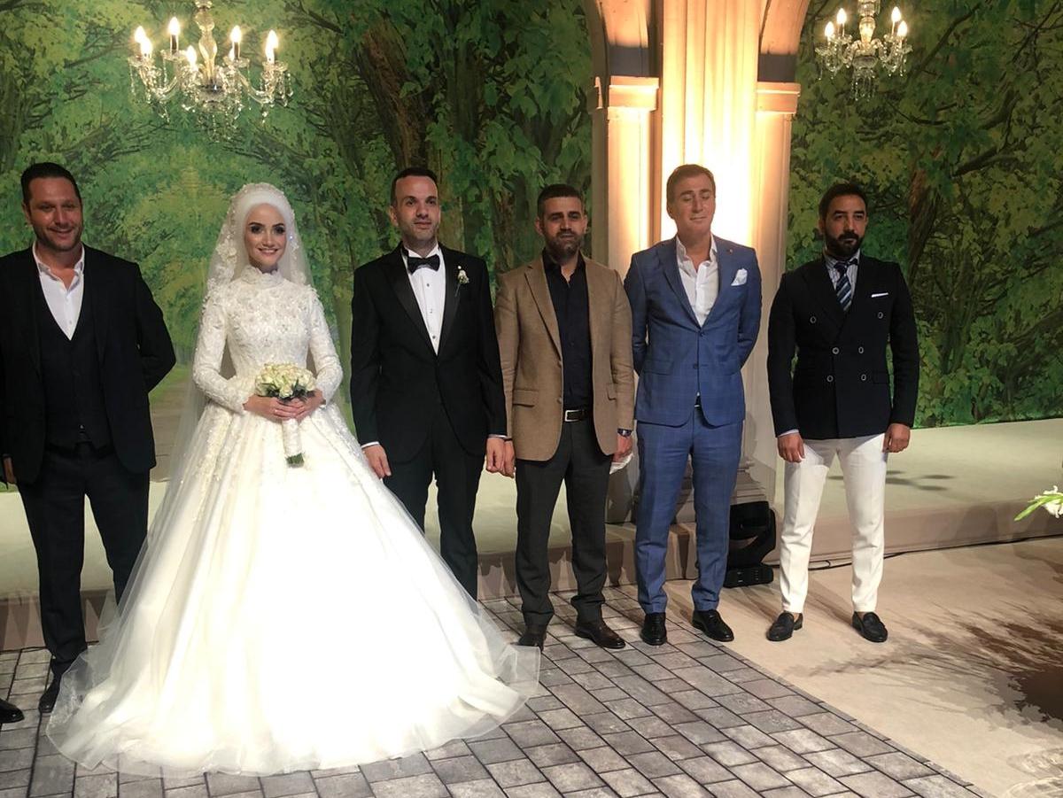 Geskon İstanbul İl Başkanı Adem Köse Ak Parti İstanbul İl Başkan Yardımcısı Cemal Sarıhan'ın düğününde