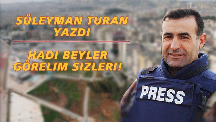Gazeteci Turan, Şanlıurfaspor'u kaleme aldı