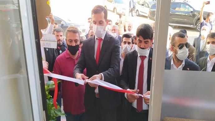 15 Temmuz Federasyonu Nusaybin İlçe Başkanlığı Açılışı Yapıldı