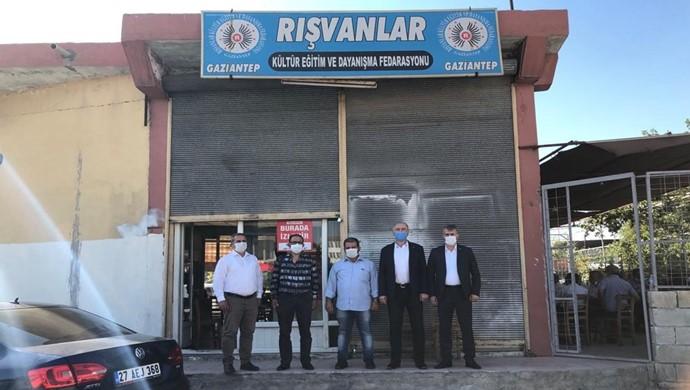 Cevdet Yıldırım, Rışvanlar Federasyonu Genel Başkanı Ali Avcı `yı Ziyaret Etti