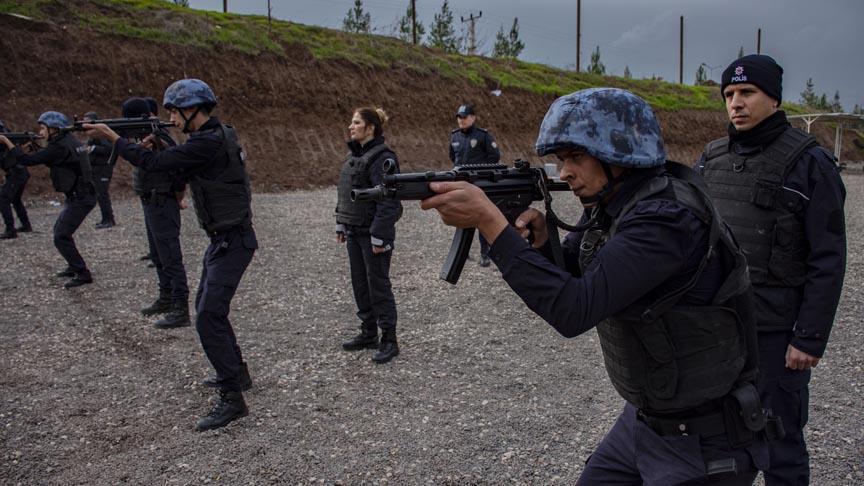 Polis adaylarının eğitimlerine başladı