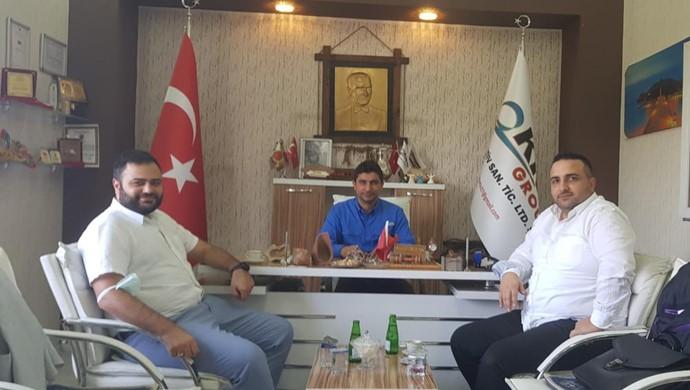 Hilal Otomotiv `den KRN Group`a Ziyaret