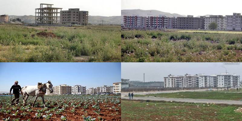 Şanlıurfa'da Tarım arazileri betonlaşıyor