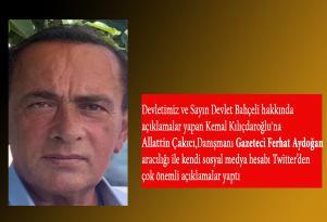 Alaattin Çakıcıdan Kılıçdaroğlu'na sert cevap
