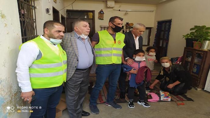 Genel Başkan Mehmet Diş ve Ekibi Minik Çocukların Yüzlerini Güldürdüler