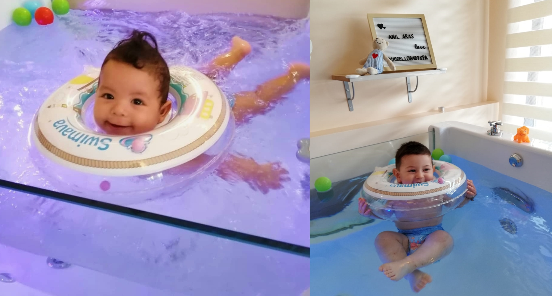Uccello Baby Spa! Bebeklerin Spa ve Masaj Keyfi..