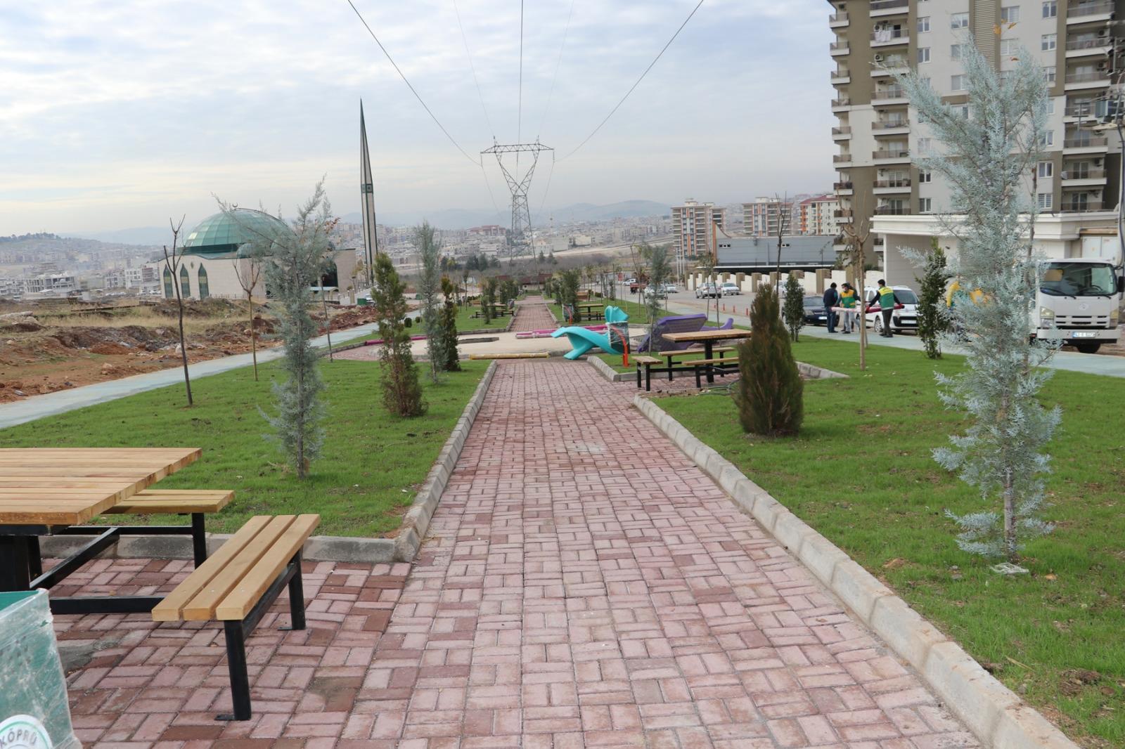 Karaköprü Belediyesi hizmeti sadece park olarak görüyor