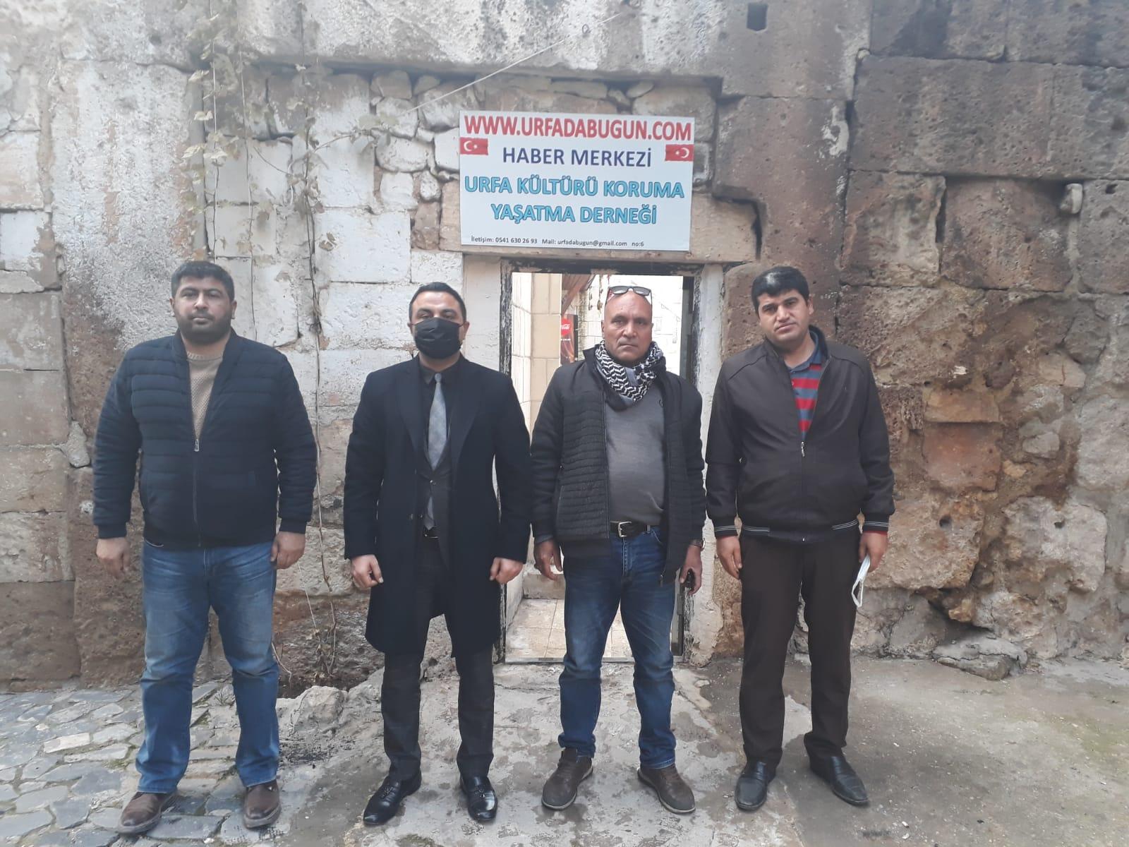 CHP Haliliye'den Medya Organlarımıza Ziyaret!