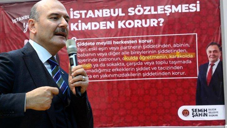 O afişler kaldırıldı, belediye başkanı hakkında da soruşturma başlatıldı