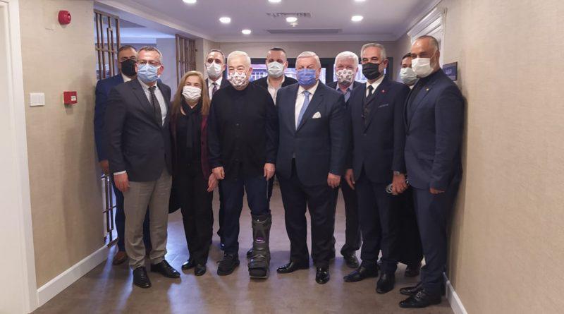 TÜRKİYE DEĞİŞİM PARTİSİ İSTANBUL ESNAF SANATKARLAR ODASINI ZİYARET ETTİ