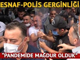 Polis, sahte ürünler için harekete geçti! Esnafla gerginlik: 5 gözaltı