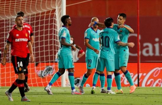 Barcelona -Mallorca'yı 4-0 yendi