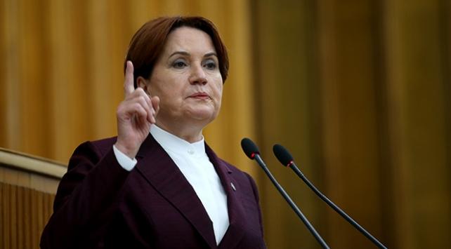 İyi Parti Genel Başkanı Meral Akşener,gündeme ilişkin Açıklama
