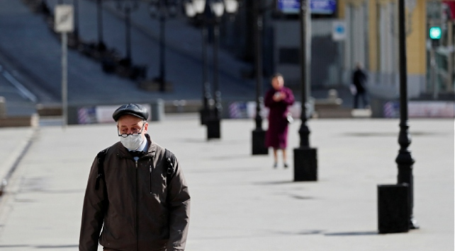 Rusya'da virüsten ölünlerin sayısı 10 bin 161'e ulaştı