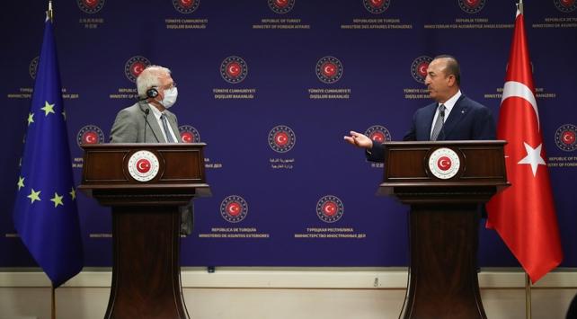 """Çavuşoğlu, """"Doğu Akdeniz ve Kıbrıs konusunda hakkaniyet bekliyoruz"""