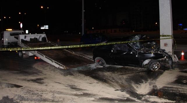 İstanbul'da trafik kazasında 4 kişi yaralandı