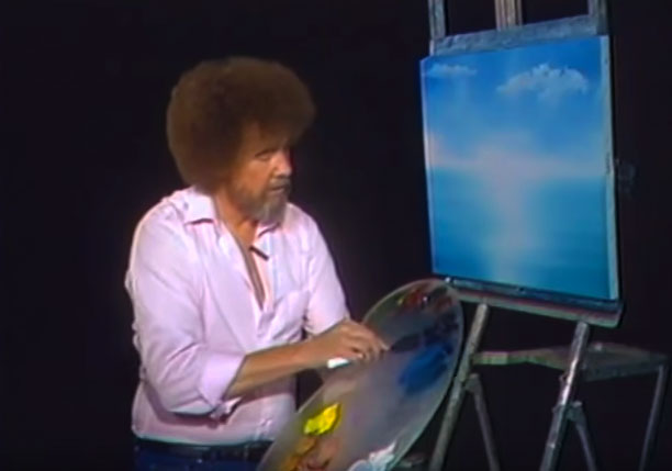Bugün, ressam Ross'un ölümünün 25'inci yıl dönümü