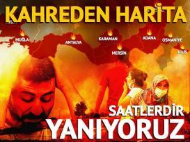 Antalya, Kütahya, Kocaeli, Aydın, Adana, Mersin, Karaman, Kilis, Kayseri ve Osmaniye'de yangın! Kara yolu ulaşıma kapatıldı